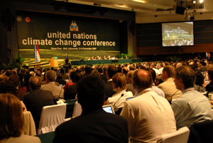 The opening of the United Nations Climate Change Conference 2007. Photos Swan Ti/Oxfam