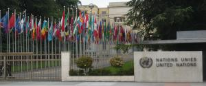 The World Health Assembly is happening inside the UN in Geneva